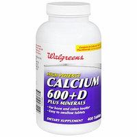 Walgreens Calcium 600+D Plus Minerals Tablets