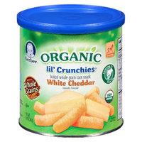 Gerber® Organic lil'Crunchies White Cheddar