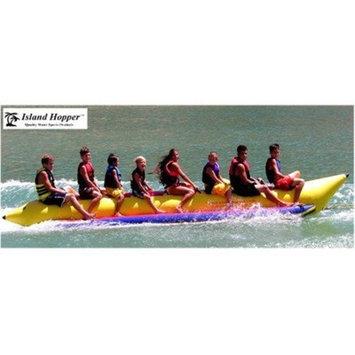 Island Hopper Commercial Banana Boat 8 Passenger Towable Tube 2014