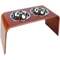 Bergan Wood Elevated Feeder for Pets, X-Large