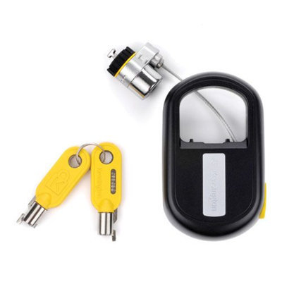 Kensington MicroSaver K64538US Keyed Retractable Notebook Lock - Steel