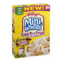 Kellogg's Frosted Mini-Wheats Cereal Touch of Fruit in the Middle Raisin