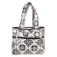 Trend Lab Tulip Tote Style Diaper Bag, Versailles B/W