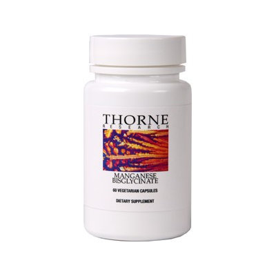 Thorne Research - Manganese Bisglycinate - 60 Capsules