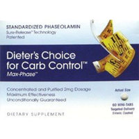 Terry Naturally Dieters Choice for Carb Control -- 60 Mini Tablets