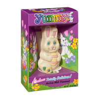 Palmer Yummy Hollow White Chocolate Bunny