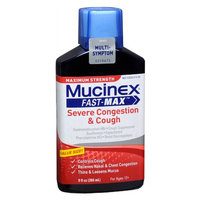 Mucinex Maximum Strength Fast-Max Adult Liquid Severe Congestion & Cough