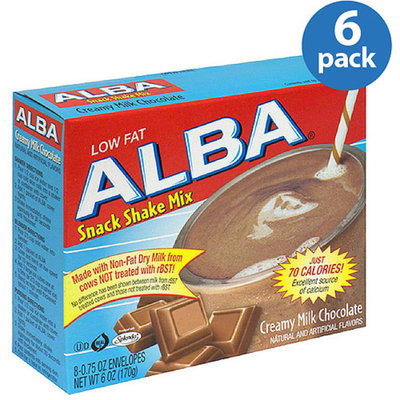 Alba Snack Shake Mix Chocolate