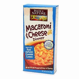 Back to Nature Macaroni & Cheese