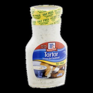 McCormick Tartar Sauce for Seafood Fat Free
