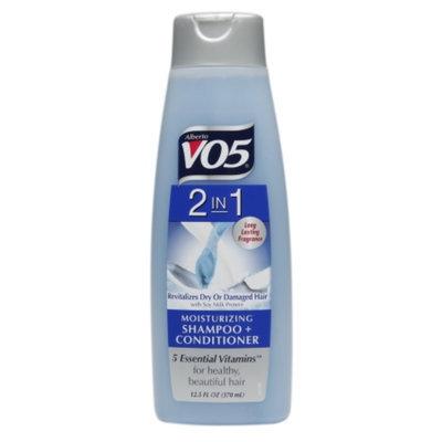 Alberto VO5 2 in 1 Moisturizing Shampoo + Conditioner, 12.5 fl oz