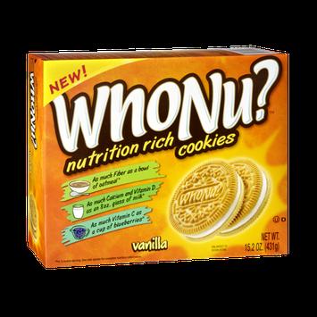 WhoNu? Nutrition Rich Vanilla Cookies