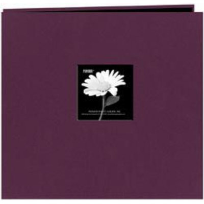 Alvin MB10CBFN-WP 12 x 12 Fabric Frame Scrapbook - Wildpur