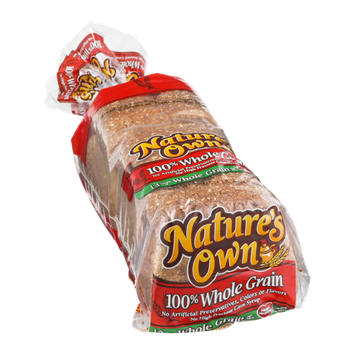 Nature's Own 100% Whole Grain Bread