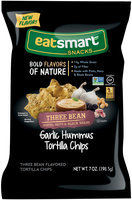 Eatsmart Snacks™ Garlic Hummus Three Bean Tortilla Chips