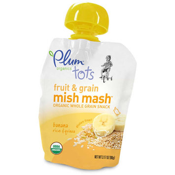 Plum Organics Fruit & Grain Mish Mash™ Banana, Rice & Quinoa