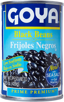 Goya Low Sodium Black Beans