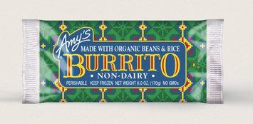 Amy's Kitchen Bean & Rice Burrito, Non-dairy