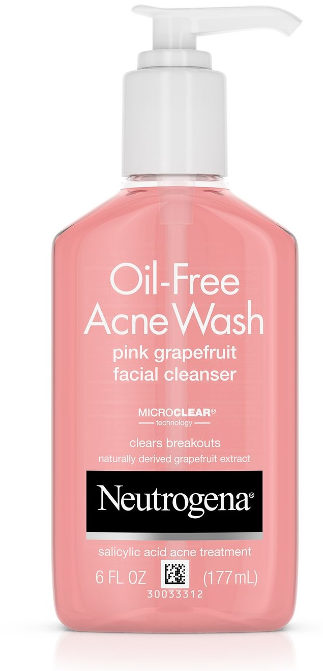 Neutrogena® Oil-Free Acne Wash Pink Grapefruit Facial Cleanser