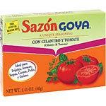 Goya Sazón with Coriander and Tomato