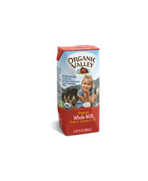 Organic Valley® Single-Serve Whole Milk