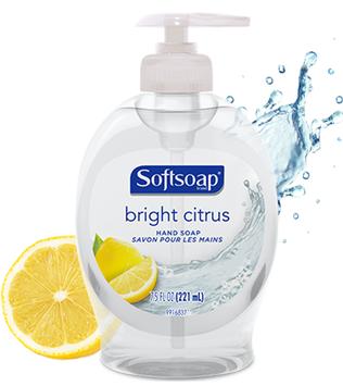Softsoap® Bright Citrus Liquid Hand Soap