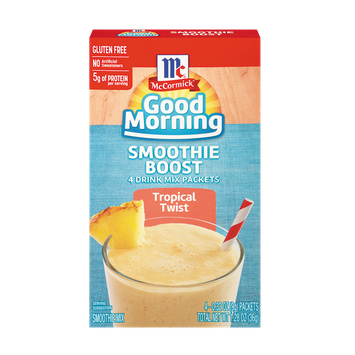 McCormick® Good Morning Tropical Twist Smoothie Boost