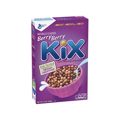 Kix Berry Berry Cereal