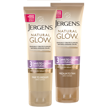 JERGENS® Natural Glow® 3 Days to Glow™ Moisturizer