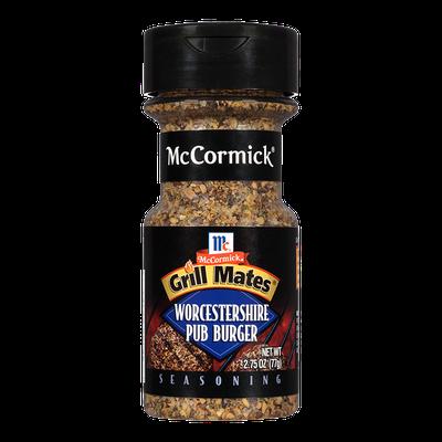 McCormick® Grill Mates® Worcestershire Pub Burger Seasoning