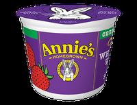 Annie's® Organic Whole Milk Summer Strawberry Yogurt