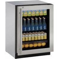 U-Line U3024RGLS13A 4.9 cu. ft. Built-in Compact Refrigerator