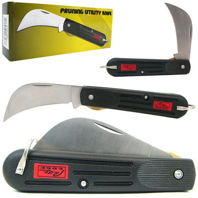 Trademark Commerce Trademark 4 Inch Stainless Steel Pruning Utility Knife - Great Value