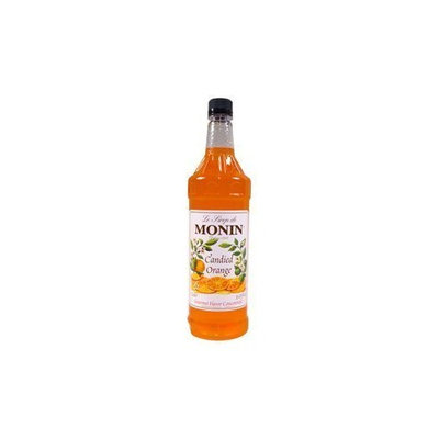 Monin Candied Orange Flavoured Syrup Plastic Bottle 1 Liter