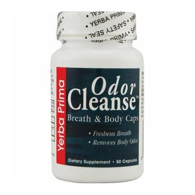 Yerba Prima Odor Cleanse Breath and Body 50 Capsules