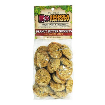 K9 Granola Factory Peanut Butter & Carob Nugget - 12 oz.