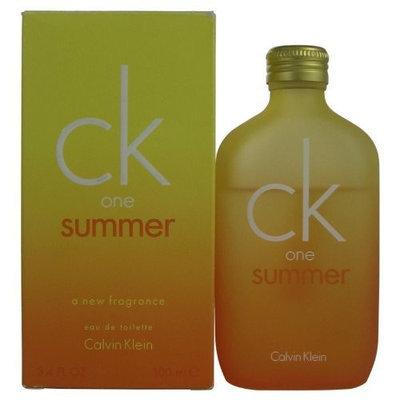 Ck One Summer By Calvin Klein for Women Eau De Toilette Spray, 3.4-Ounce