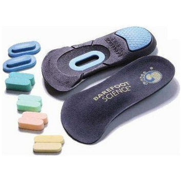 Barefoot Science Foot Strengthening System - 7-Step Therapeutic 3/4 Length - X-Small - Womens 5-7.5 / Childs 3.5-5.5