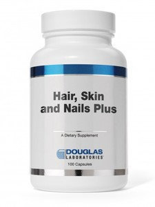 Douglas Labs Hair Skin & Nails Plus Formula 100 caps