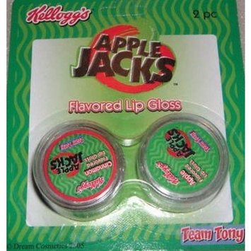 Kellogg's Apple Jacks Cereal Flavored Lip Gloss - 2 Pack
