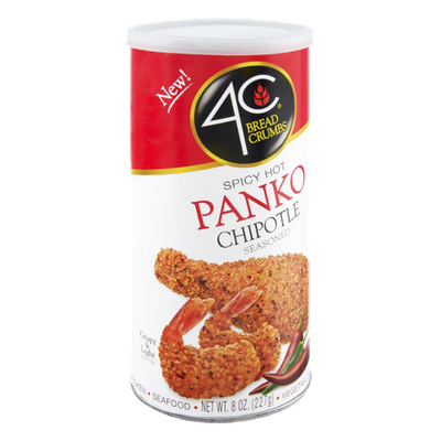4C Spicy Hot Panko Chipotle Seasoned Bread Crumbs