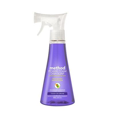 method french lavender power foam dish soap