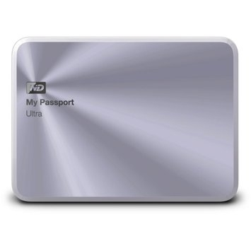 Western Digital WD My Passport Ultra Metal Edition External Hard Drive
