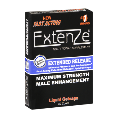 Extenze Maximum Strength Extended Release Male Enhancement Liquid Gelcaps - 30 CT
