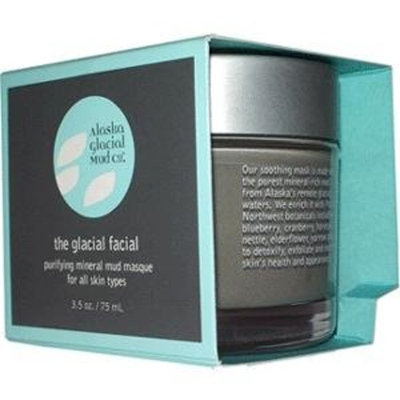 Alaska Glacial Mud Company Alaska Glacial Mud Purifying Mineral Mud Masque - Lavender Peppermint - 3.5 fl oz