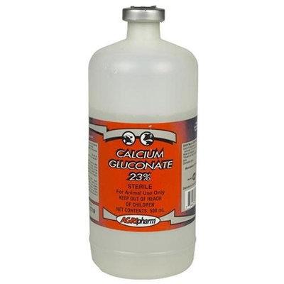 AgriPharm Calcium Gluconate 23% IV Calcium - 500ml