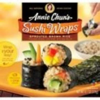 Annie Chun's Brown Rice Sushi Wraps 7 oz. (Pack of 6)