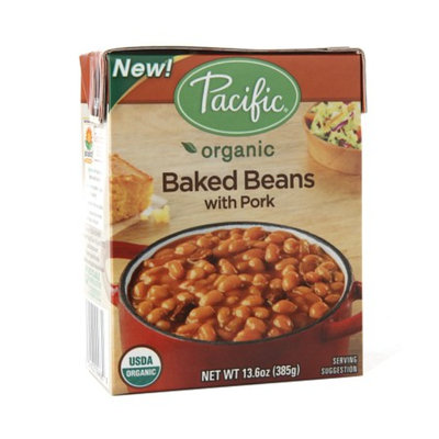 Pacific Organic Baked Beans with Pork