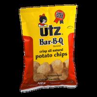 Utz Potato Chips Bar-B-Q Flavored Family Size
