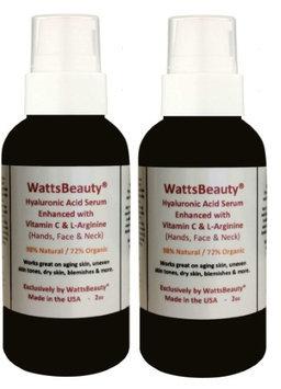 Watts Beauty Advanced Anti Wrinkle Vitamin C Serum for Skin 4 oz - Pack of 2